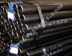 MS ERW Black / Welded Steel Pipes